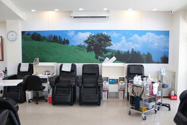 豐原捐血室全血作業區