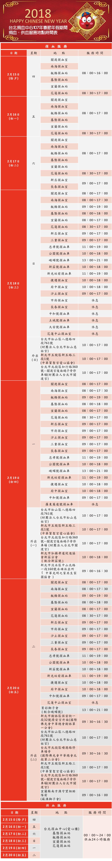 「107年春節年假期間捐血、供血服務地點時間表」