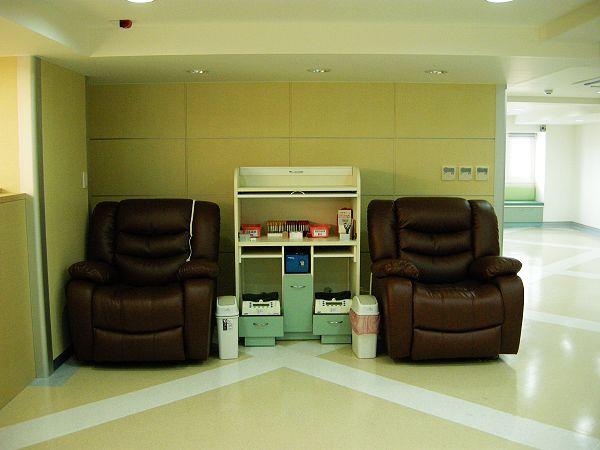 全血捐血區