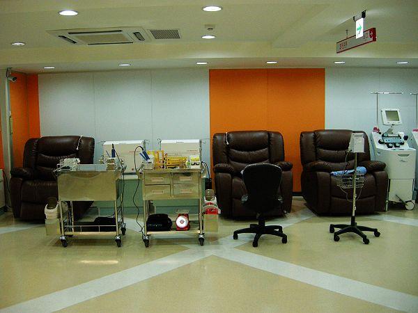分離式捐血區