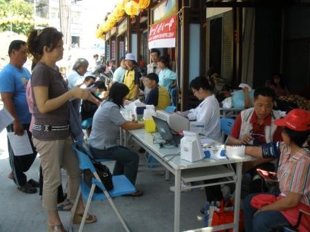 感謝在地鄉親與來遊玩的遊客熱情參與捐血救人