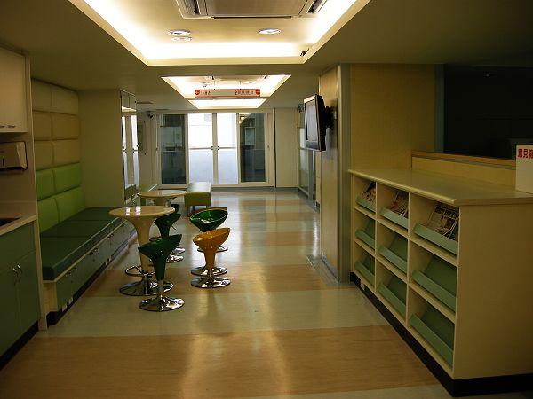 三民捐血室內部